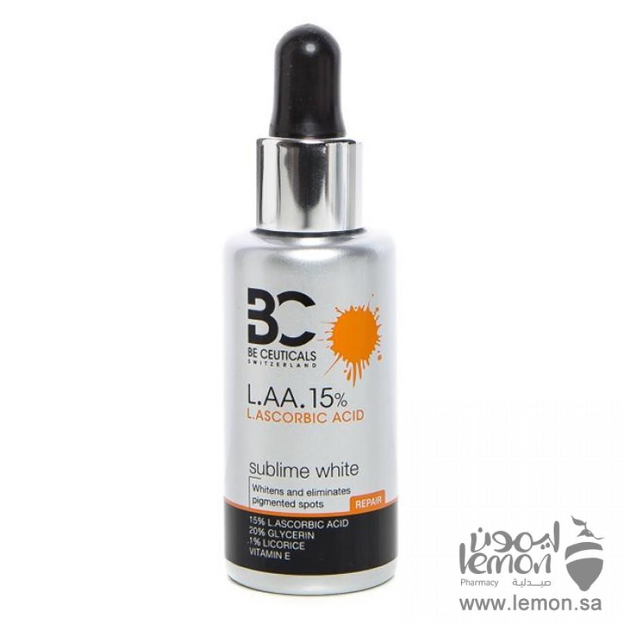Be Ceuticals LAA 15% Sublime White Serum 35 ml