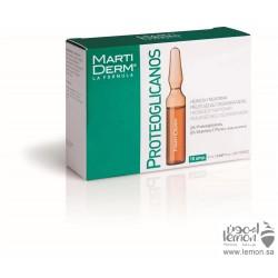 مارتيديرم بروتيوجلايكانس امبولات ازالة اثار التجاعيد وترطيب البشرة العادية إلى الجافة 10 امبولات