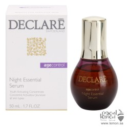 Declare essential night anti-aging serum  50ml