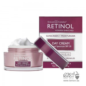 Retinol Day Cream for wrinkles and fine lines 50gm